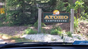 camp ayoho now a campground