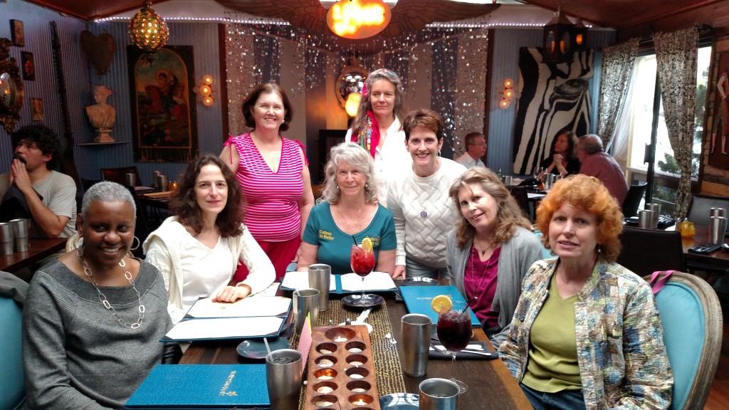 women friends--asheville..going away party