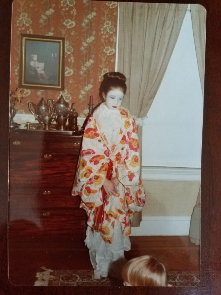 kerry in geisha gear